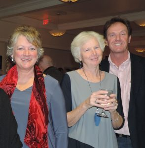 Catharine Cooke, Pat Corrigan, Ian Gribble