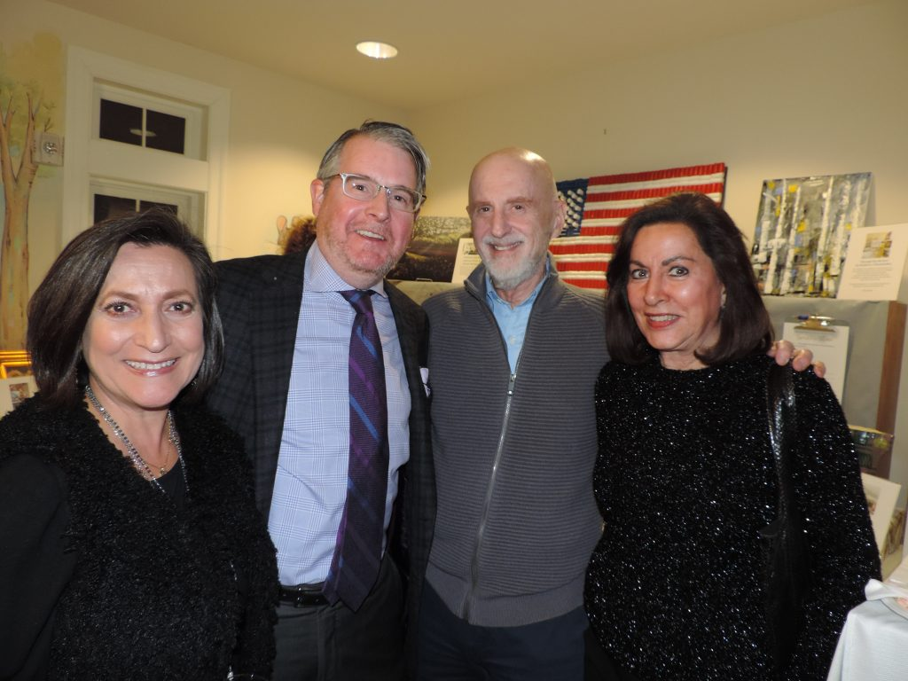 Corinne Kevorkian, Terence Nolan, Brian and Lois Lipton