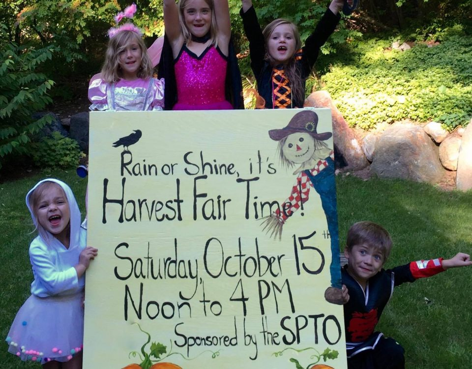 Harvest Fair Sign 2016