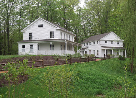 The Parsonage and The Hubbell House