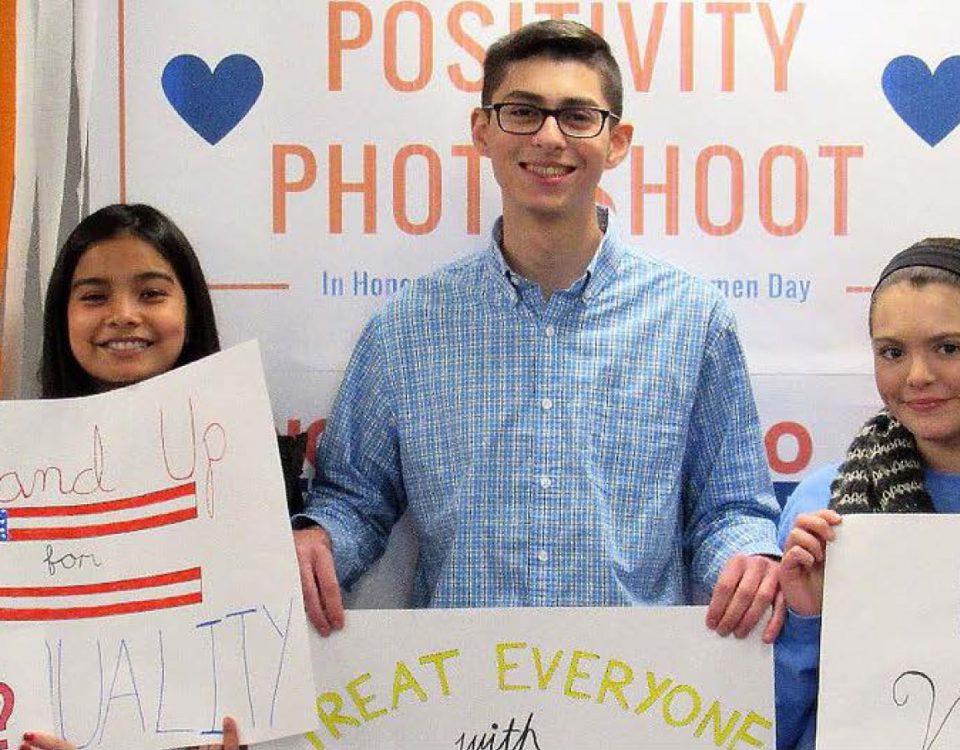 A snapshot of last year's Positivity Photoshoot