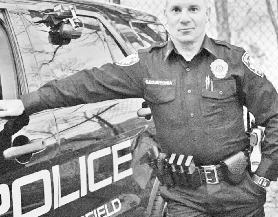 Police man B&W 4